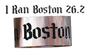 Boston Marathon Bead W/O Ring